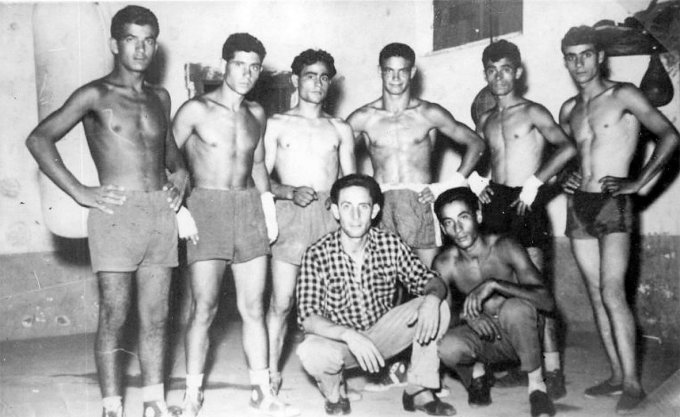 Folgore Boxe · Oristano 1952