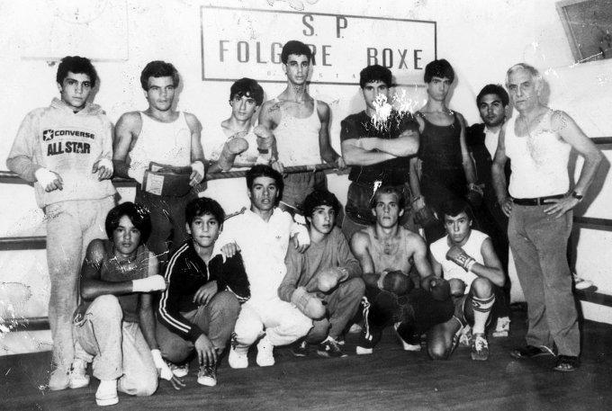Folgore Boxe · Oristano inizi anni ottanta