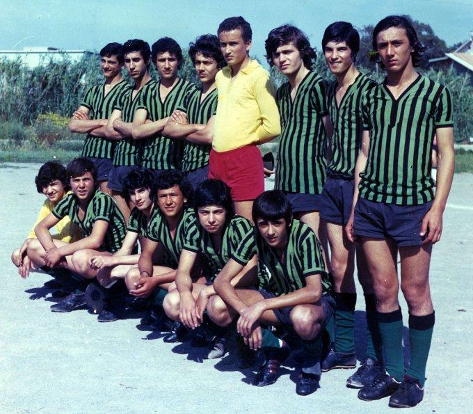 Folgore Calcio Oristano · fine anni settanta