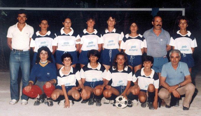 Football Club Femminile Terralba · Arborea anni ottanta