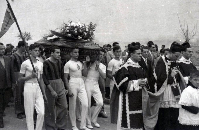 I funerali di Carlino Ibba