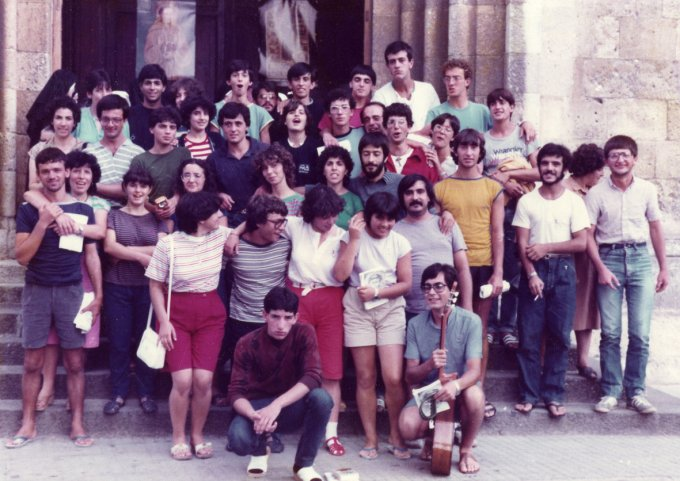 Gioventù Francescana · Oristano-Sassari 1982