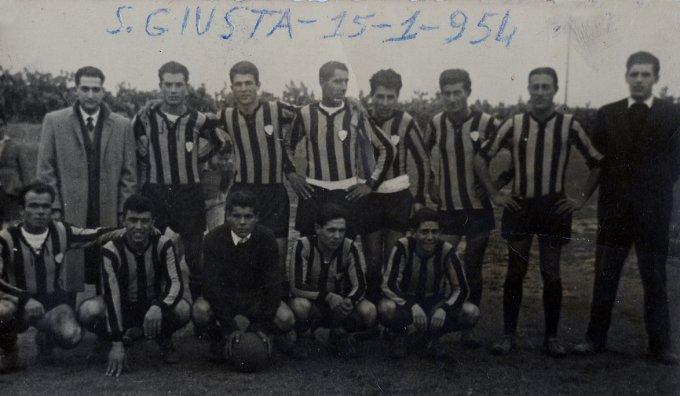 G.S. Ambrosiana · Santa Giusta 1954