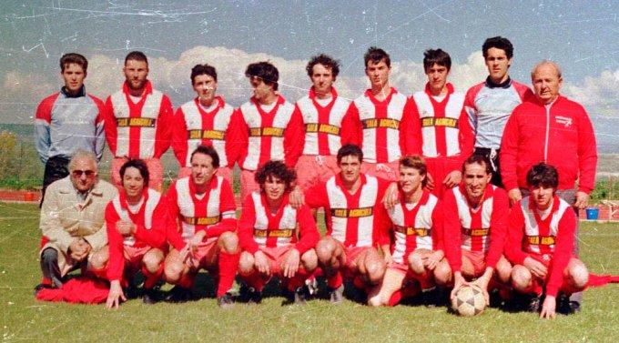 Oristanese Calcio · Lunamatrona anni ottanta