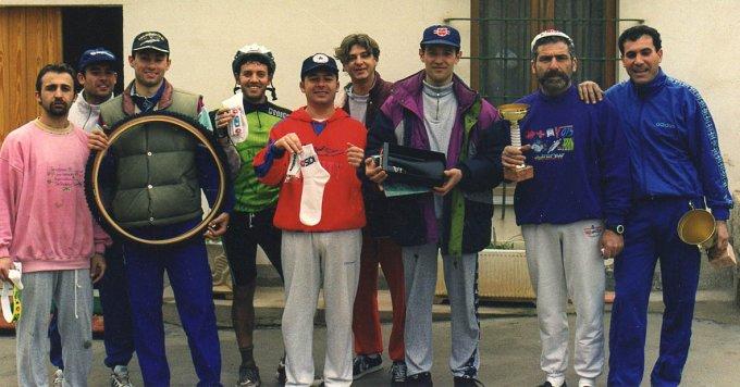 Ciclisti Oristanesi · Ingurtosu anni novanta