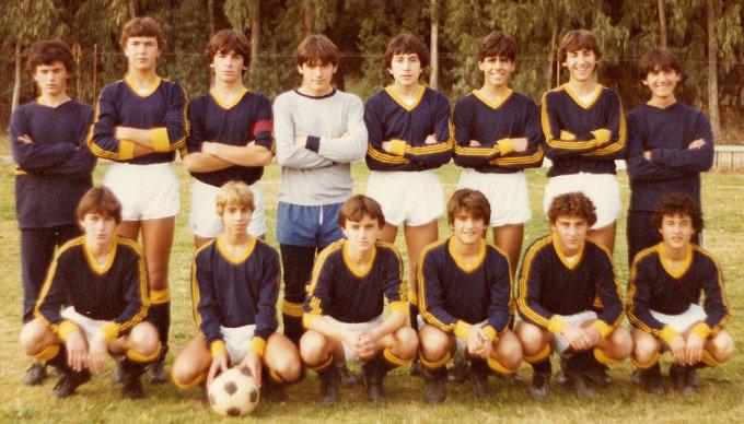 San Domenico Allievi · Oristano anni ottanta