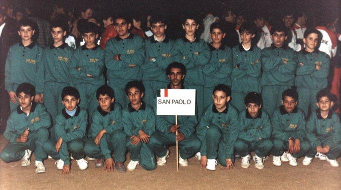 San Paolo Calcio Oristano · Malgrat de Mar 1989