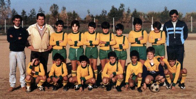 San Paolo Scuola Calcio anni 80