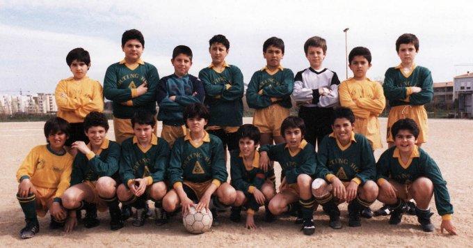 San Paolo Oristano · Scuola Calcio anni ottanta