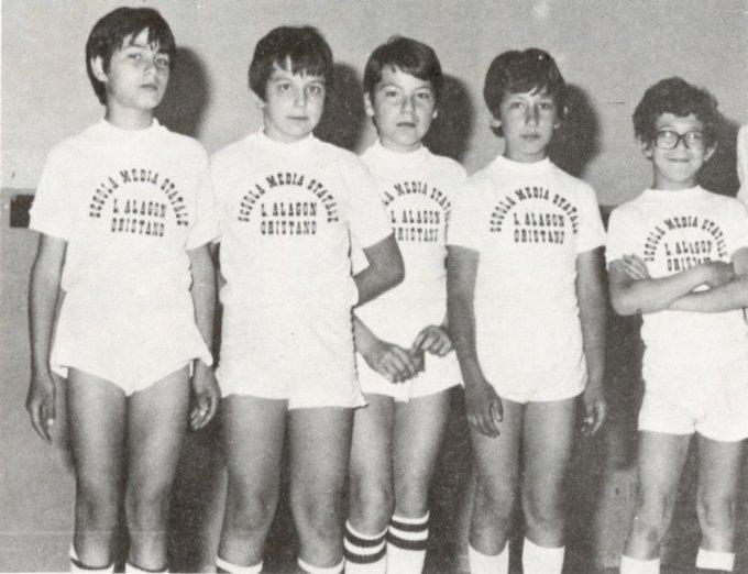 Scuola Media Leonardo Alagon · Oristano 1978