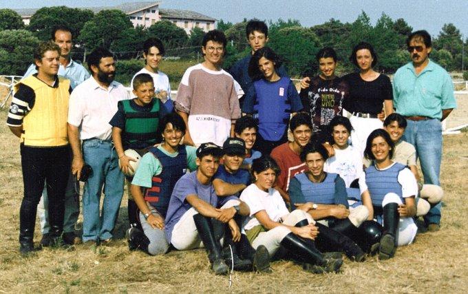 Stage di Equitazione · San Leonardo 1994