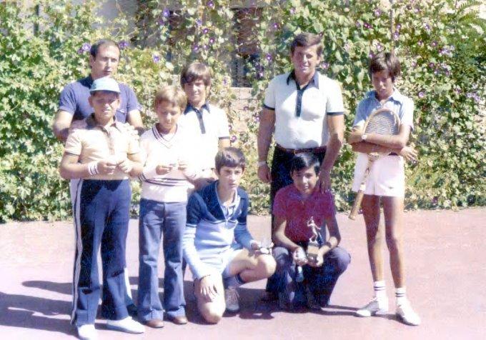 Tennis Club '70 · Oristano anni settanta
