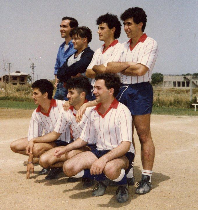 Tecnici Informatica Edile Calcetto · Santa Giusta 1988