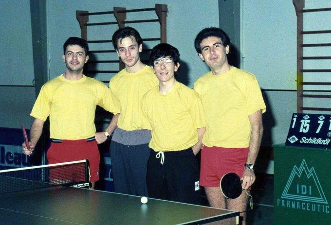 Tennis Tavolo Oristano · 1990