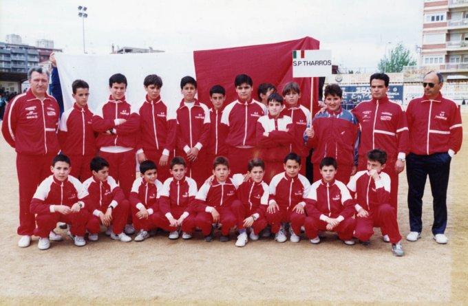 Tharros Calcio Giovanissimi · Lloret de Mar 1991