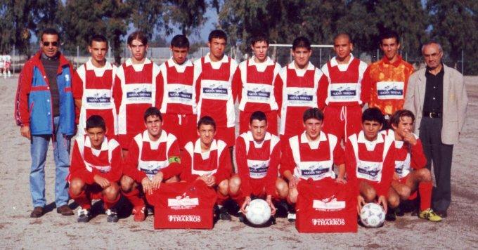 Tharros Calcio Allievi · Oristano 1997