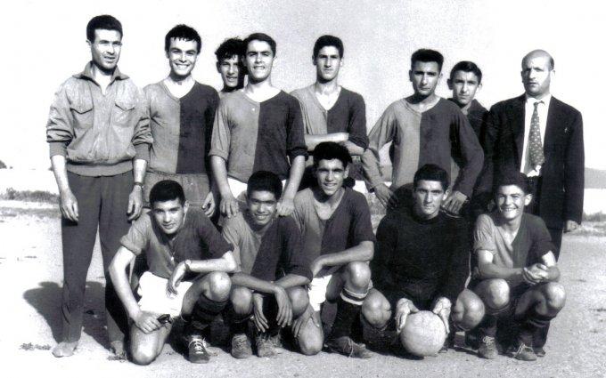 Tharros Calcio · Oristano anni cinquanta