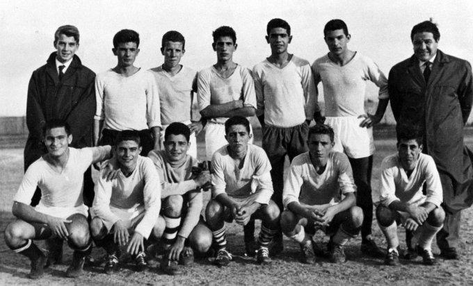Tharros Calcio Juniores · Oristano anni cinquanta