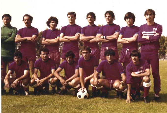 Tharros Calcio · Guspini inizi anni ottanta