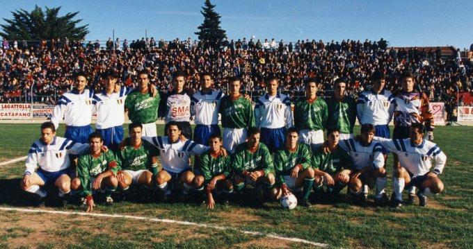 Tharros-Nazionale Militare · Oristano anni novanta