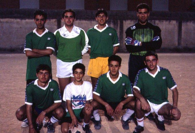 Torneo amatoriale Sacro Cuore · Oristano 1992