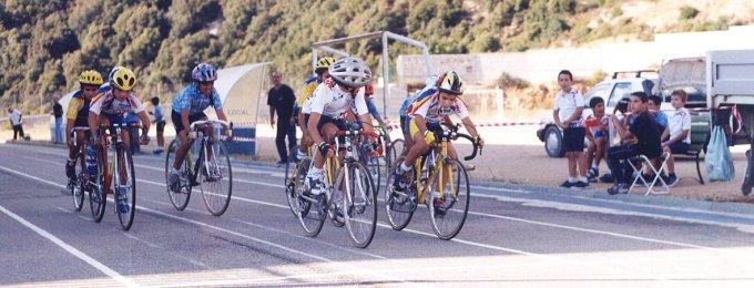 La gara di Baunei del 2001