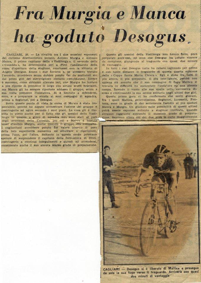 Angelo Desogus: dal Corriere