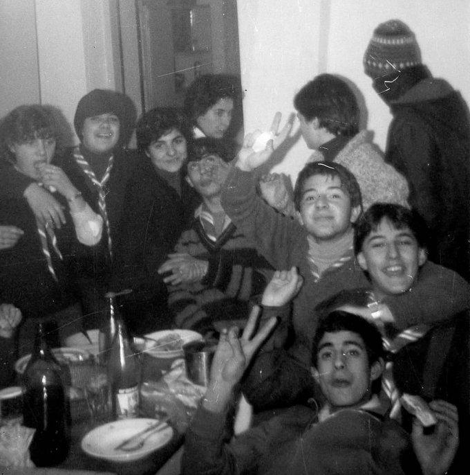 Campo invernale · Monte Arci 1976
