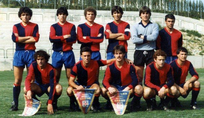 Rappresentativa Sarda · Cervia 1986