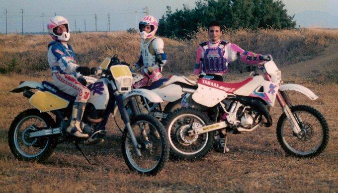 Motocross Enduro · anni novanta
