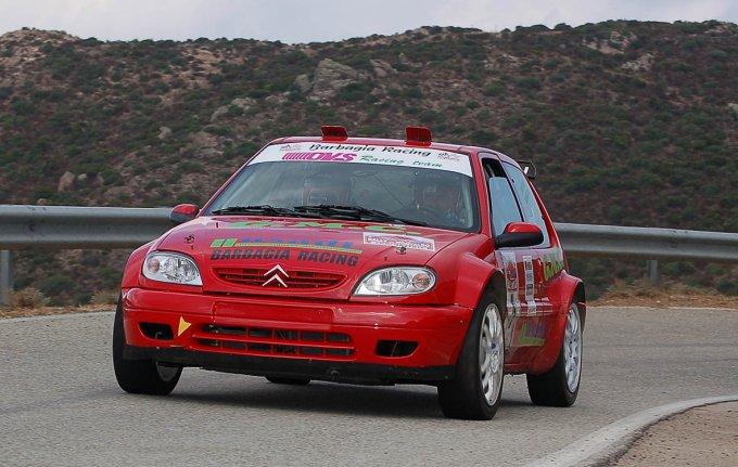 Equipaggio Pes-Monni - Rally del 2007 Montalbo
