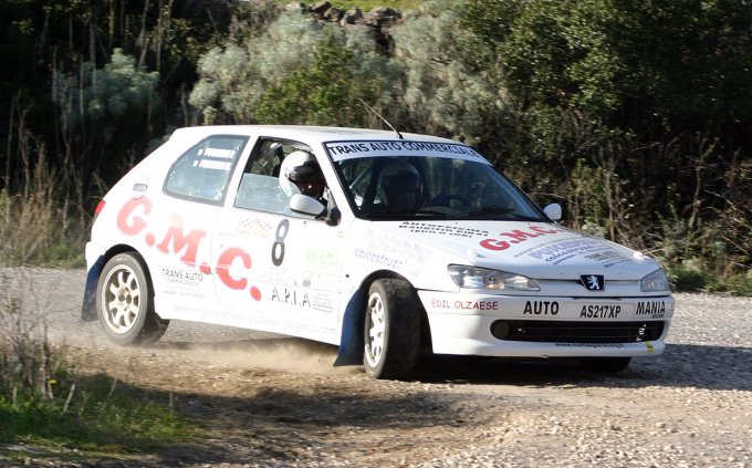 Equipaggio Pusceddu · Rally a Dorgali 2007
