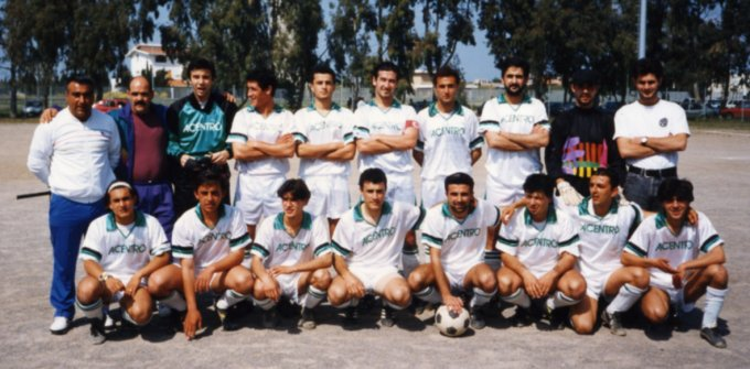 Folgore Calcio Oristano · 1992-1993