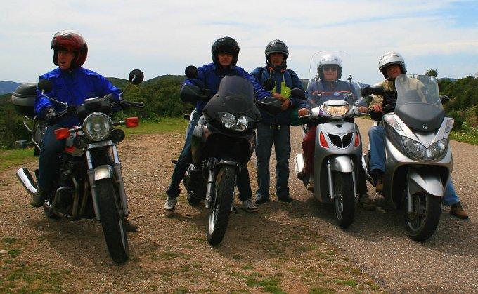 Amici in motocicletta · Costa Verde 2008