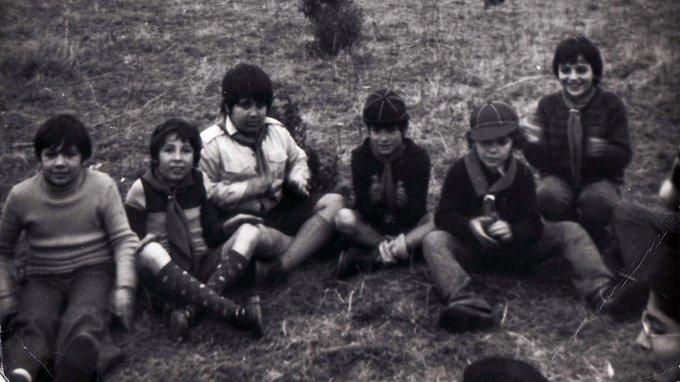 Lupetti Gruppo Scout Sacro Cuore · Oristano anni sessanta