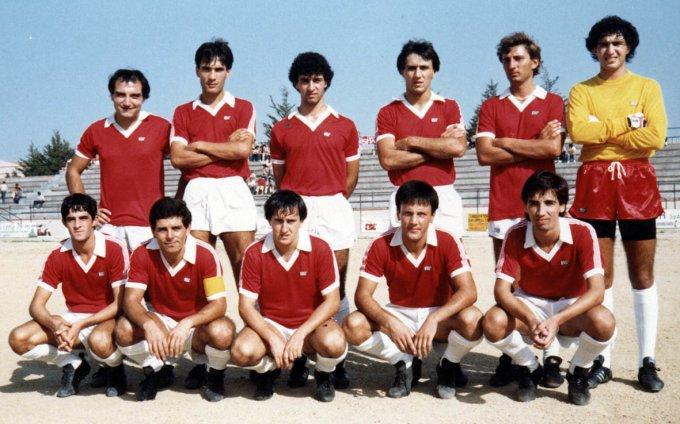Oristanese Calcio anni ottanta