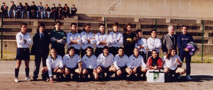 Rappresentativa Oristano Under 21 · Narbolia 1997