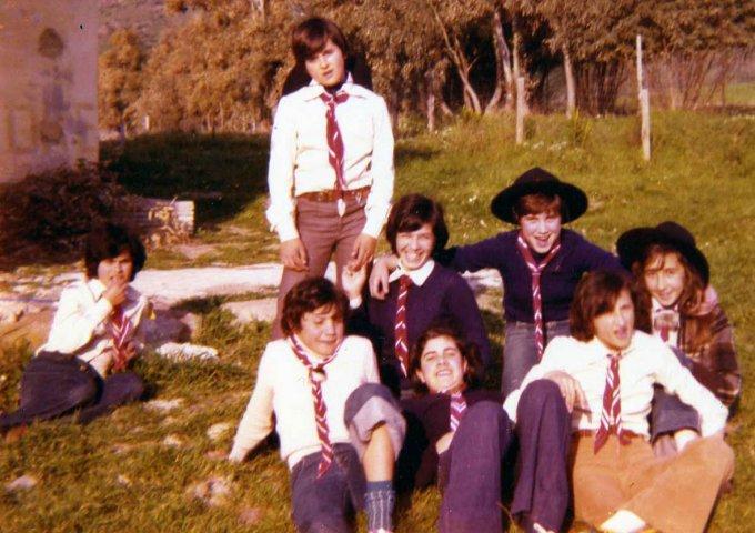 Campo Estivo · Monte Arci 1976