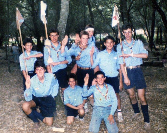 Scout Oristano · anni ottanta