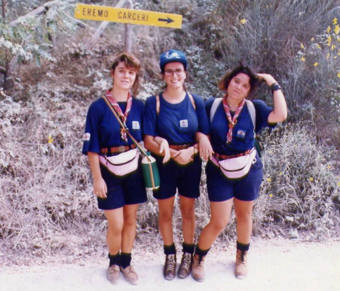 Scout Gruppo Oristano 3 · Assisi 1992