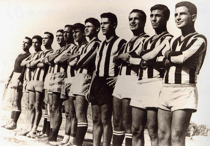 Solanas Calcio · Anni cinquanta