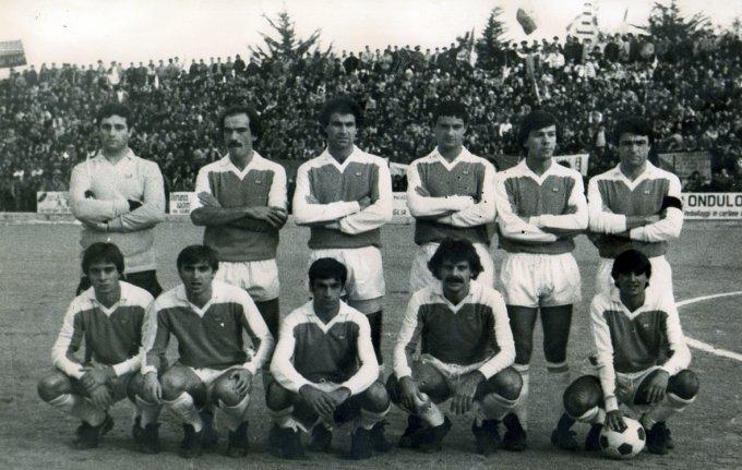 Tharros Calcio · Oristano fine anni settanta