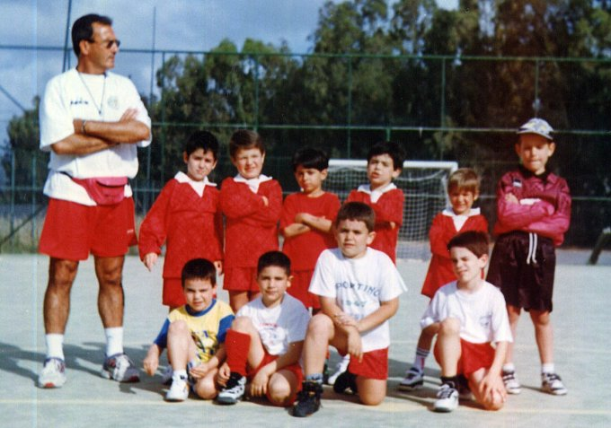 Tharros Primi Calci · Oristano 1997