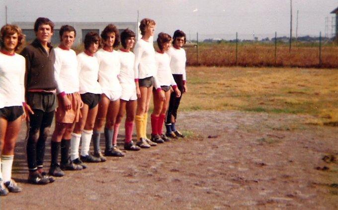 Amici a Sa Rodia anni 70
