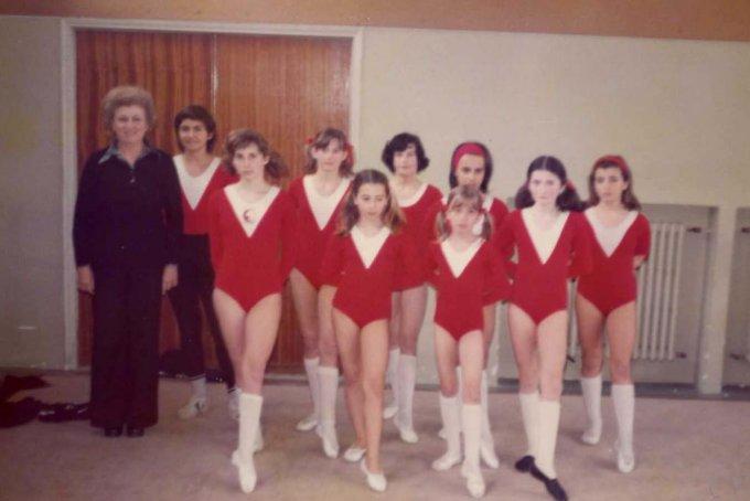 De Castro Femminile Oristano anni settanta