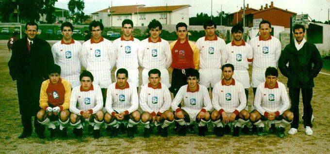 Ghilarza Calcio anni ottanta