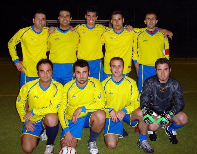 Guardia Costiera Calcetto · Santa Giusta 2007
