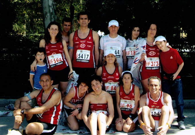 Marathon Club a Madrid 2008