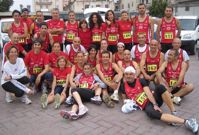 Marathon Club Oristano a Nuoro 2008