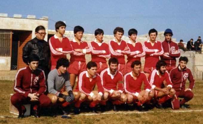 Oristanese Calcio anni 80
